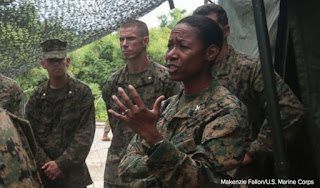 President Trump nominates 1st African-American woman to be Marine brigadier general