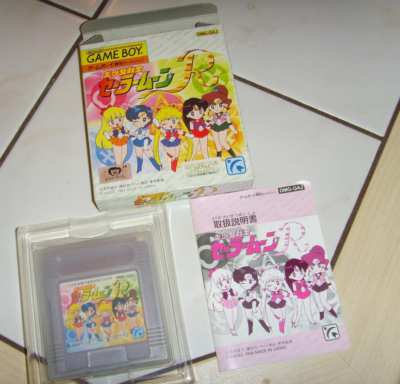 Japanspel Blog: Bishoujo Senshi Sailor Moon R For Game Boy