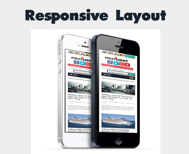 mobile responsive blogger template