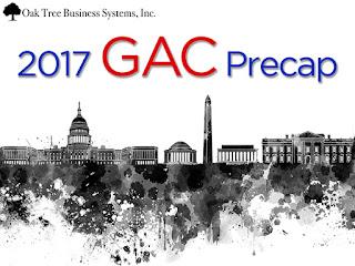 CUNAGAC2017 Precap Topics and What To Do