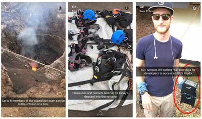 General Electric en Snapchat