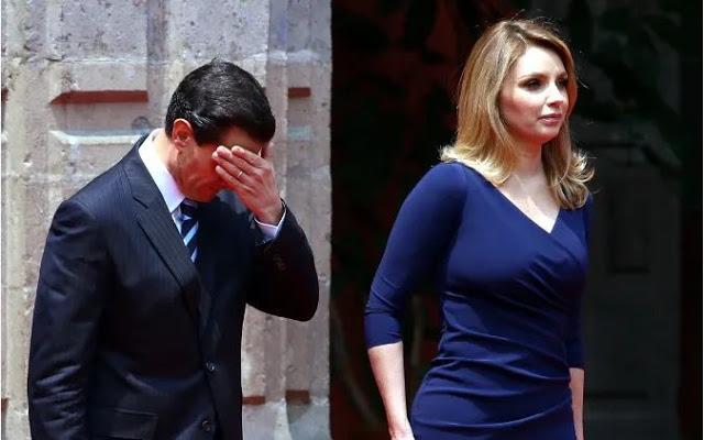 Angelica Rivera le exige a Peña 35 autos y 12 años de vuelos privados para darle el divorcio