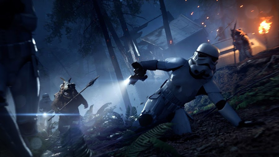star wars battlefront 2 night on endor update