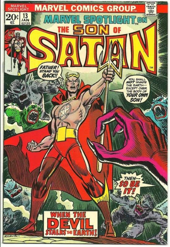 Portada de Marvel Spotlight Vol 1 #13, obra de John Romita