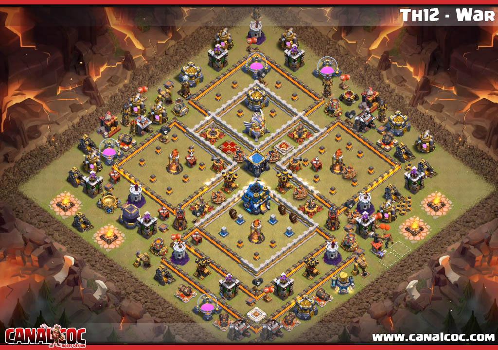 Base War Th 12 Anti Bowler 3