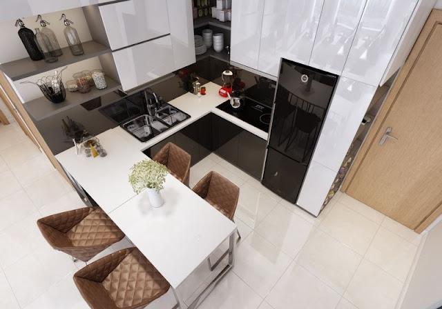 Tư vấn thiết kế căn hộ 69m2 độc đáo và ấn tượng - H3