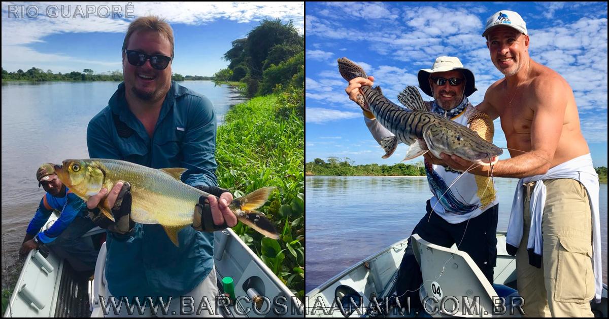 ef5159696bfcc Pescaria no Rio Guaporé  BARCO HOTEL MAANAIM