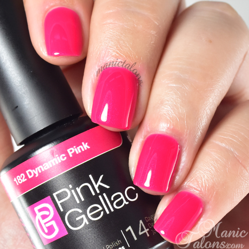 Pink Gellac Dynamic Pink Swatch