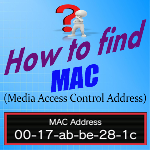 how to find computer pc mac address