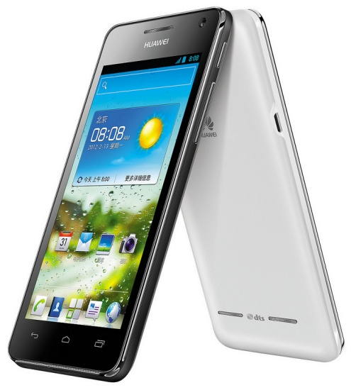 Huawei Ascend G 600: Smartphone Android 4.0