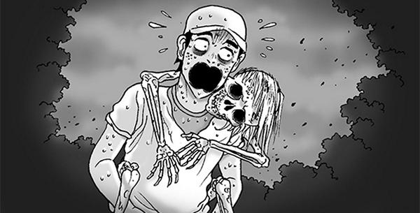 Silent Horror chap 53: Người đi dạo