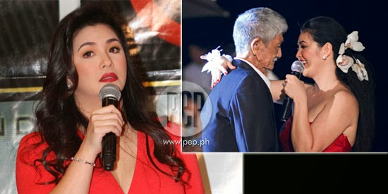 Father of Regine Velasquez already Died