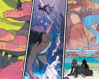 "NickALive!: Preview Pages From First ""Legend Of Korra ..."