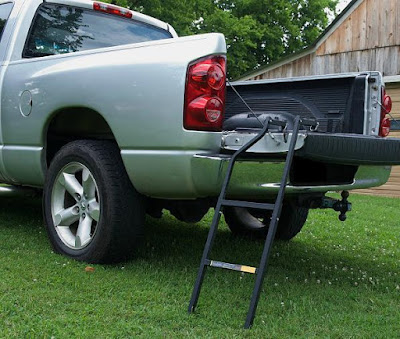 Awesome Tailgating Gadgets - Tailgate Ladder
