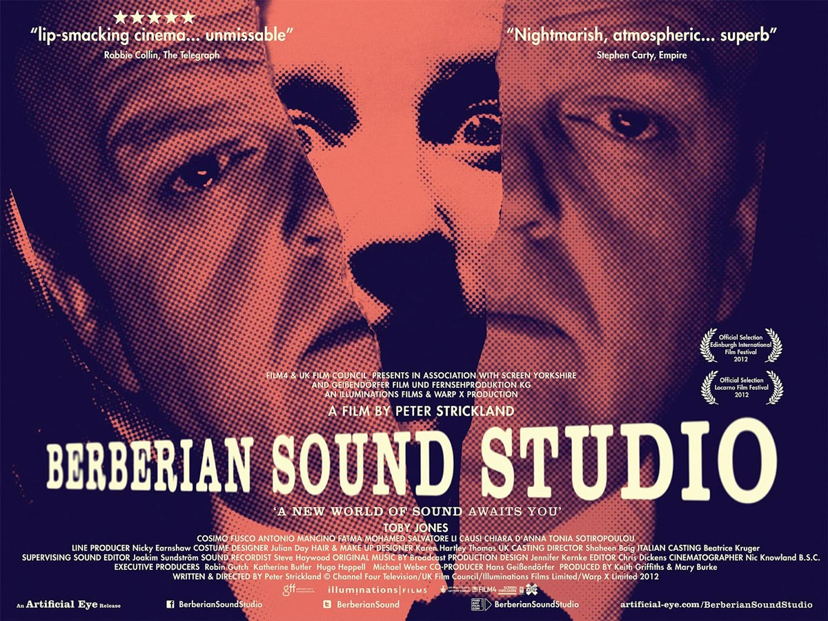 'BERBERIAN SOUND STUDIO'  de Peter Strickland