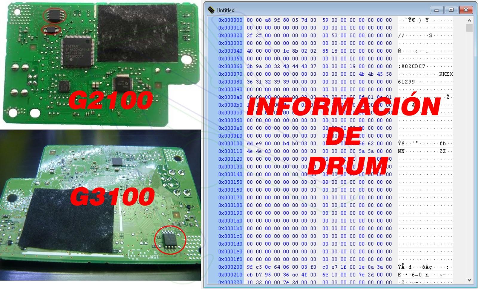 descargar firmware eeprom para canon g3100