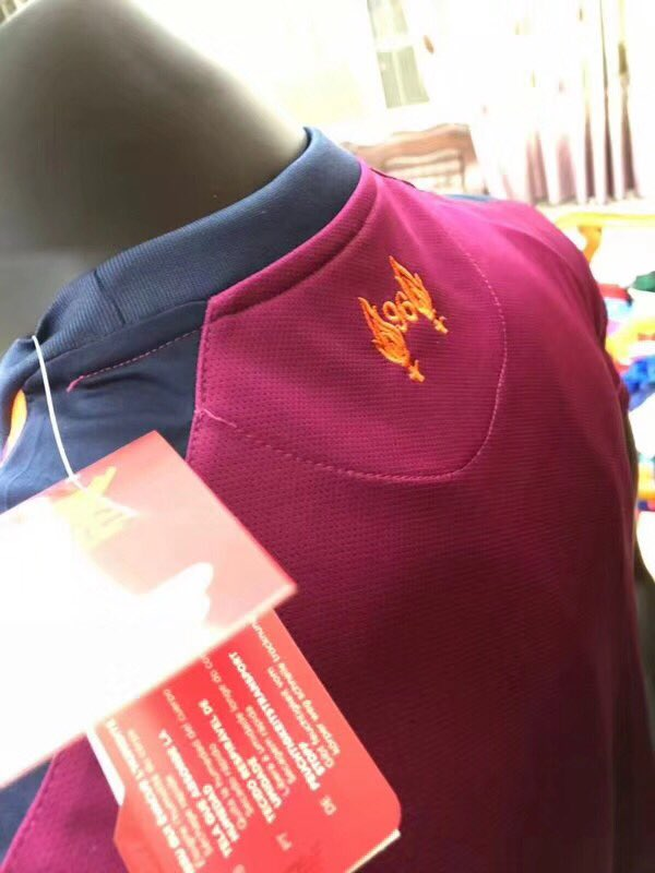 c81fbb638fe Now our follower Ryan made us aware that a fake version of next season's  Liverpool away shirt is already on sale in China.