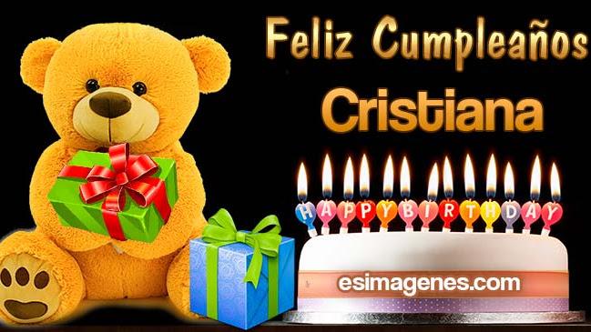 Feliz Cumpleaños Cristiana