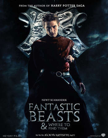 Poster Of Fantastic Beasts and Where to Find Them 2016 English 700MB HDTS x264 Free Download Watch Online downloadhub.net