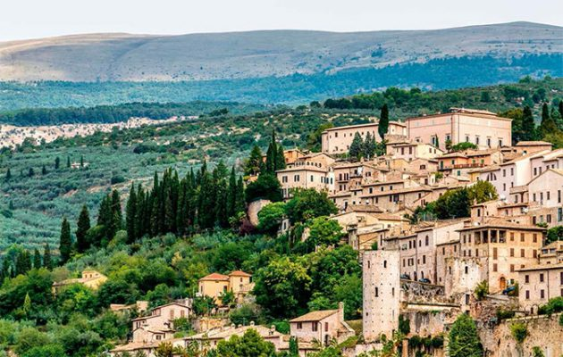 travel in italy umbria