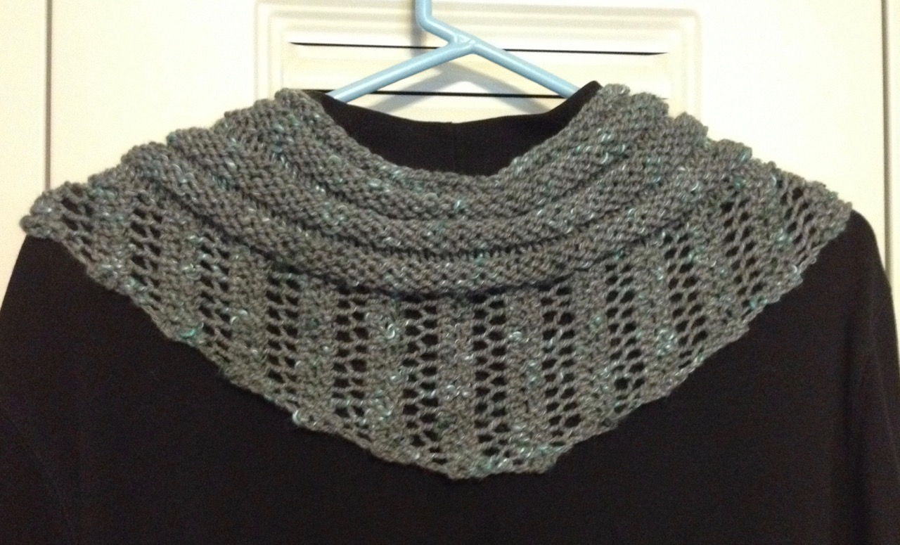 Knitting Pattern For Gallatin Scarf : Wyoming Breezes: Gallatin Scarf