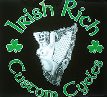 NEW! Irish Rich Custom Cycles Tshirts