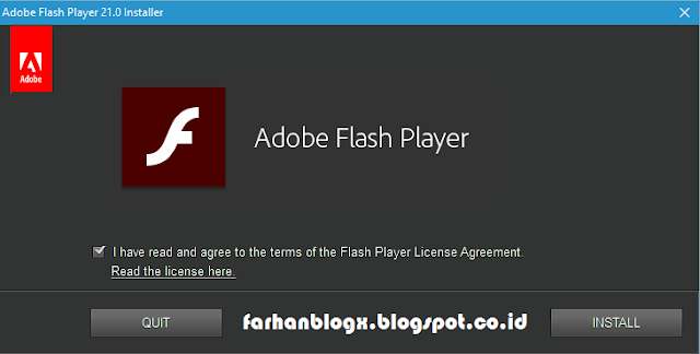 Adobe Flash Player 21.0.0.213 Offline Installer Terbaru