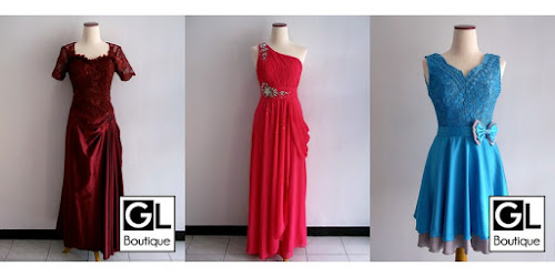RENTAL MURAH DRESS SWEET SEVENTEEN