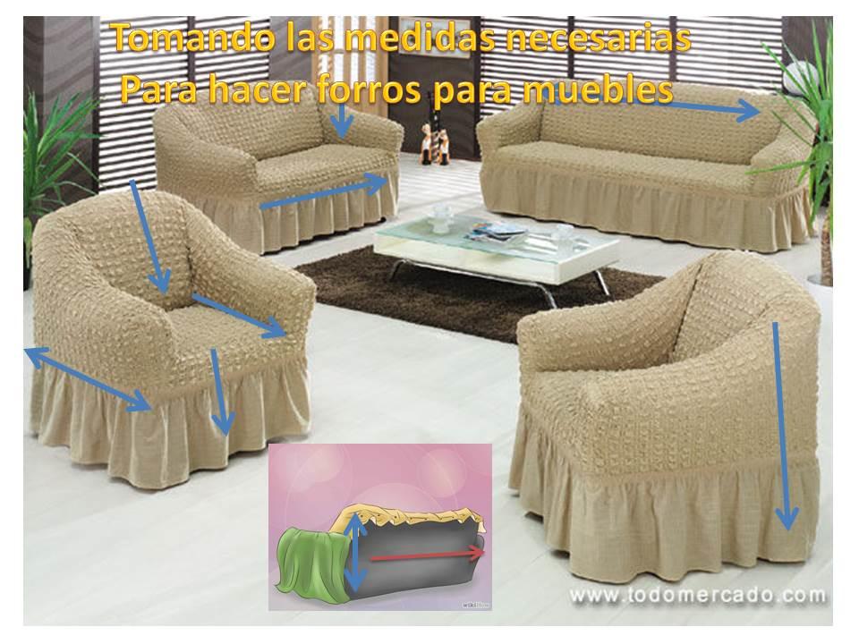 Como hacer los forros para tus muebles - Hacer cojines para sillas ...