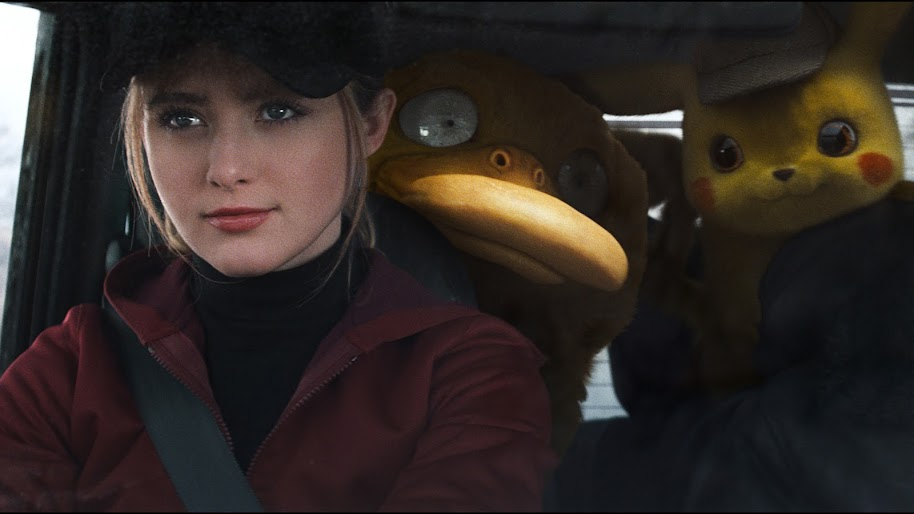 Pysduck and Detective Pikachu, 4K, #15