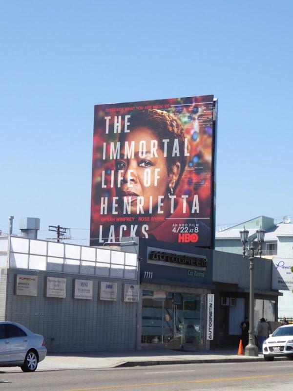 Immortal Life Henrietta Lacks billboard