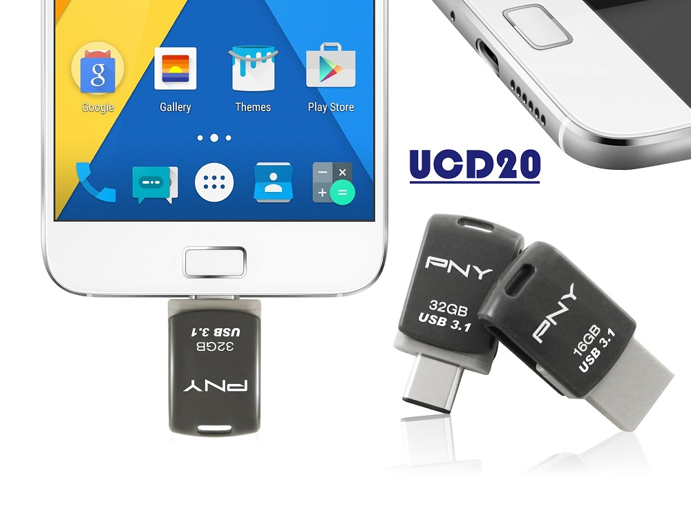 PNY UCD20 Type-C OTG Flash Drive
