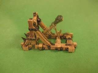 The Miniatures Man: Catapult from Printable Scenery