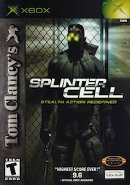 Tom Clancy's Splinter Cell (Xbox, 2002) front cover original xbox softmod kit