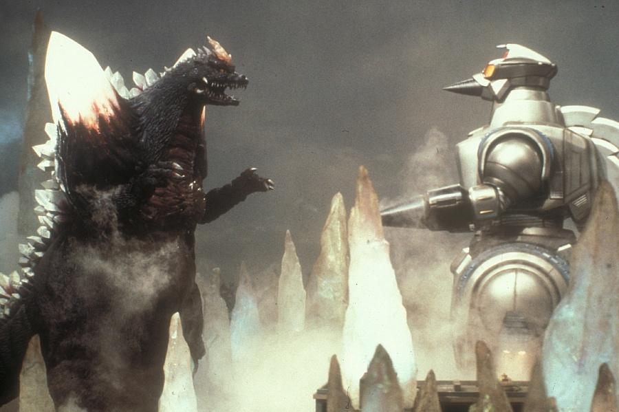 Godzilla Gegen Spacegodzilla