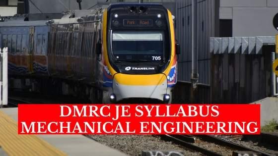 mechanical je syllabus