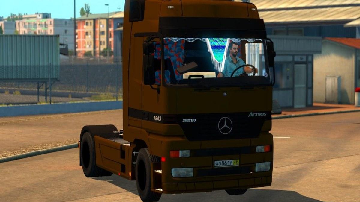 Truck Mercedes 1843
