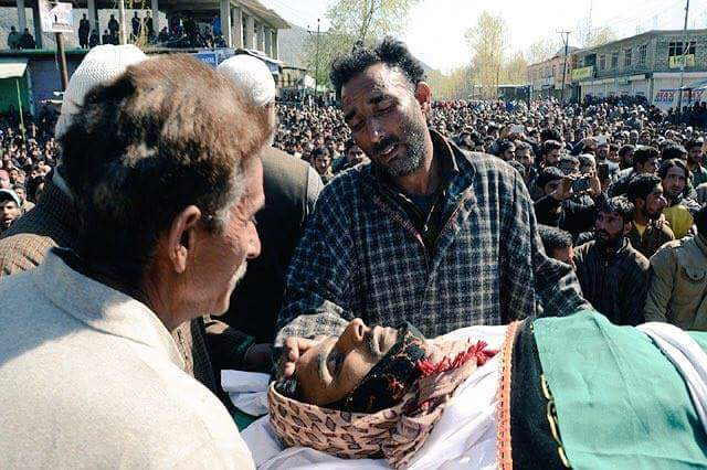 Indian Troops killed six innocent in Indian-controlled #Kashmir