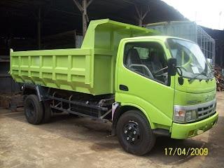 dump truk 5 kubik hino dutro surabaya