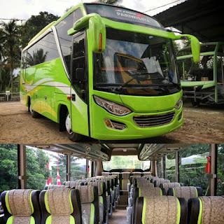 Bus Pariwisata MHD Seat 33 Jogja