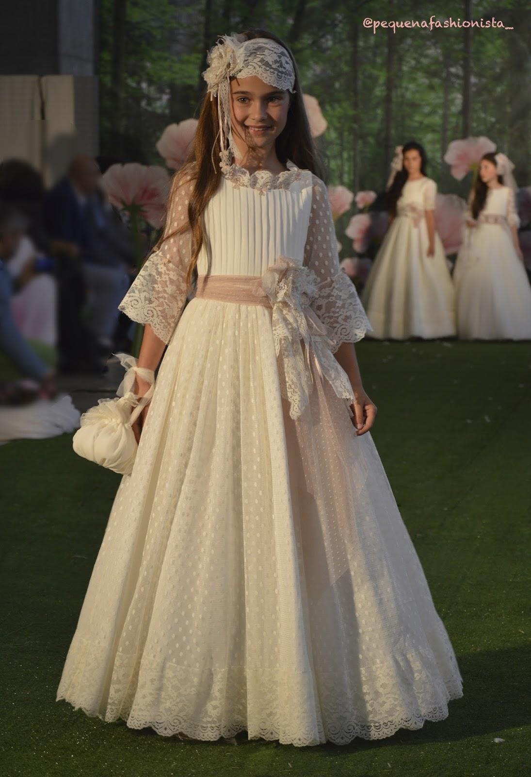 Vestidos comunion tendencia 2019