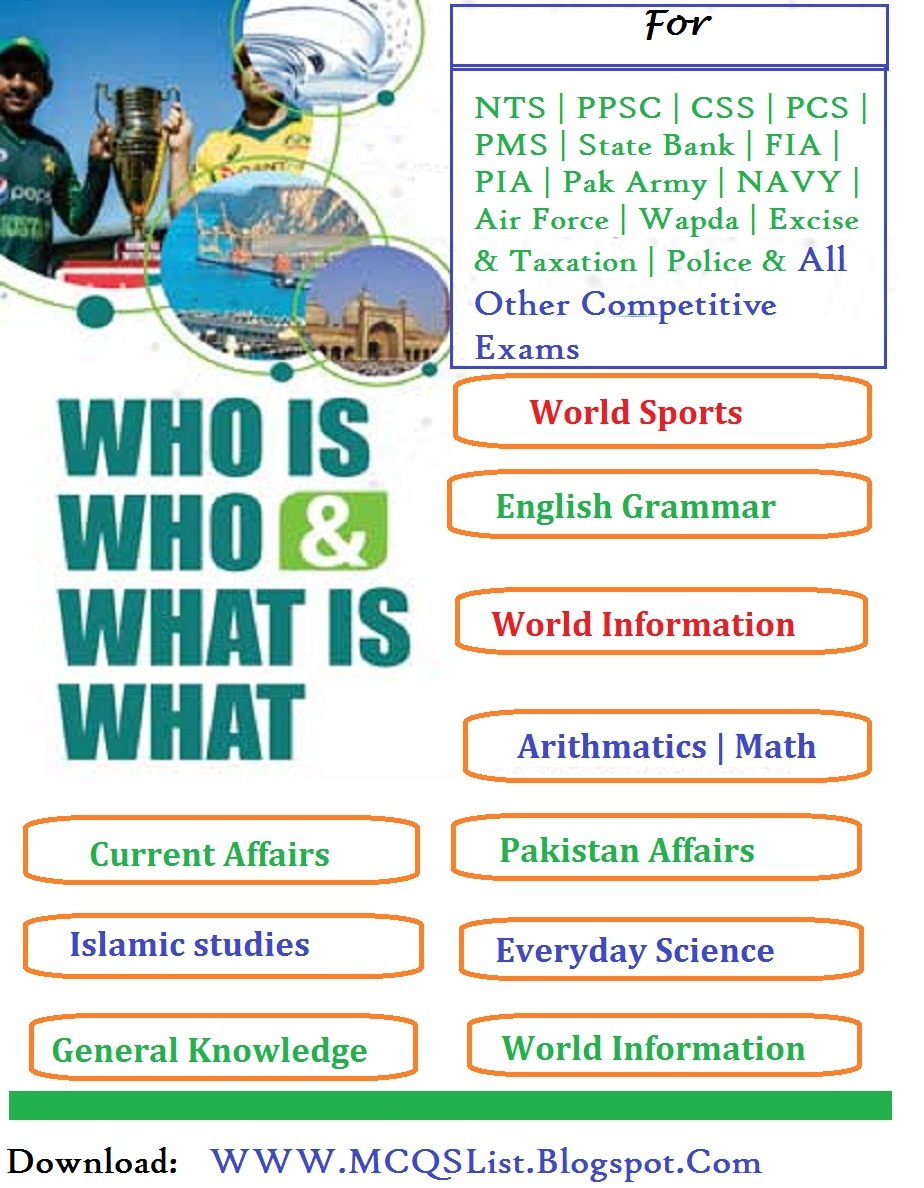 Who is Who and What is What Dogar Brothers PDF Book Download