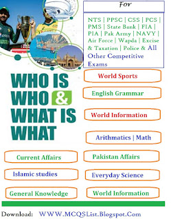 Complete Solved PDF Kon Kia Hai and Who Is Who What is What
