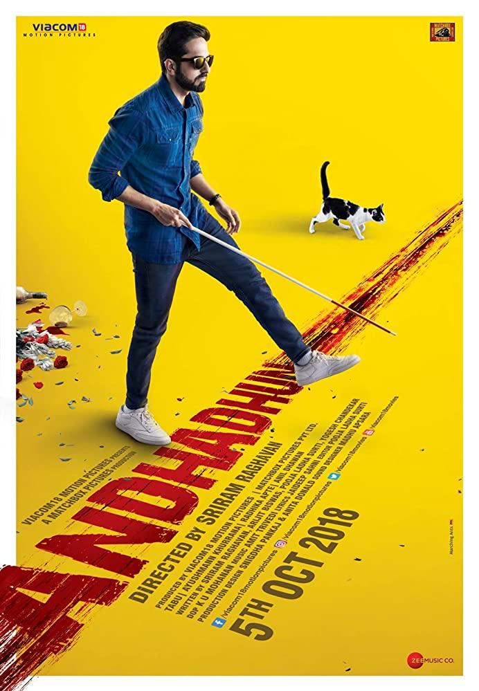 Andhadhun 2018 Hindi 720p BluRay Full Movie Free Download