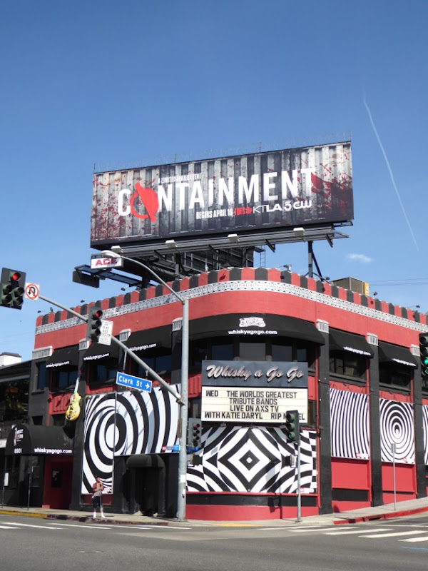 Containment series launch billboard