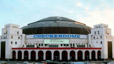 St. Louis Arena - Checkerdome circa 1980's photo