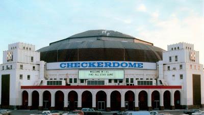 St. Louis Arena - Checkerdome circa 1980's photo