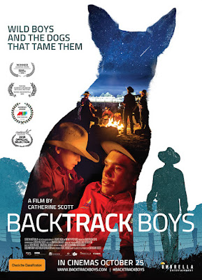 Poster for Backtrack Boys film directed by Catherine Scott