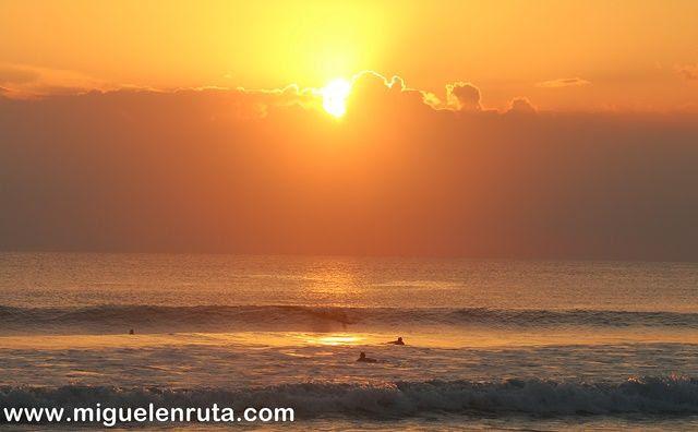 Cielo-naranja-Pantai-Kuta