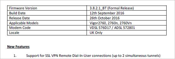 Memory Sieve: Draytek Vigor 2760n dial-in VPN update